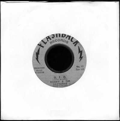 "Oldie Single 7""  Ronny & the Daytonas - G.T.O. - Hot rod baby"