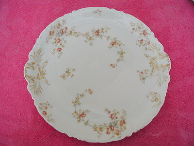 """Haviland H&Co (H3911/H1986 pattern but blank 1) 13"""" ROUND CHOP PLATE"""