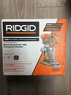 Ridgid R86044B 18-Volt Brushless Compact Router