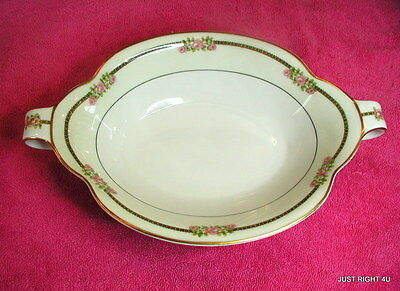 """Theo Haviland Limoges (Richmond) 10 3/4"""" OVAL SERVING BOWL Exc"""