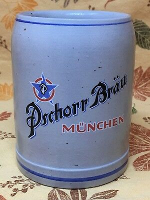 Vintage Pschorr-Brau Munchen Beer Stein/Mug - West Germany
