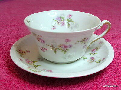 Theo Haviland (Schleiger 339-5) CUP & SAUCER SET(s) (2 avail)