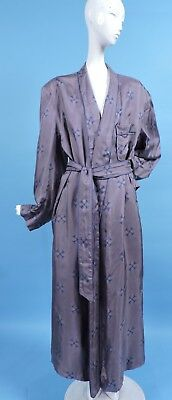 A Sulka Print Silk Vintage 1940'S Men'S Robe Pristine Condition