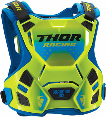 THOR MX Motocross 2018 Kids GUARDIAN MX Chest/Roost Guard (Flo Green) SM-MD