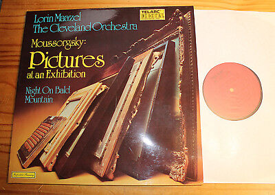 MUSSORGSKY Pictures at an Exhibition MAAZEL LP TELARC Digital