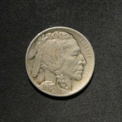 1913-D Type 1 Buffalo Nickel 5¢- VF/XF