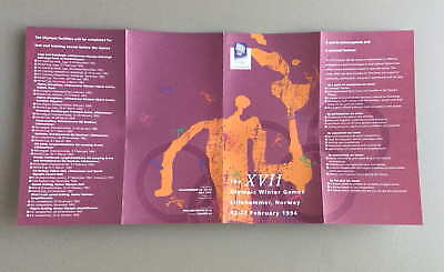 The Xvii Olympic Winter Games Lillehammer, Norway 1994 Brochure