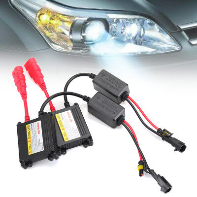 2pc Waterproof Digital HID Xenon Ballast 55W HID Replacement Slim Ballasts DC AU