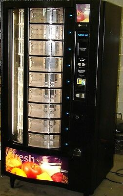 Crane National Model 432 Fresh Food Vending Machine Refrigerated