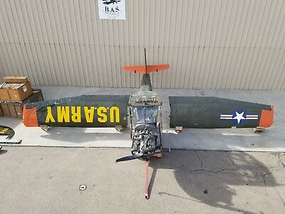 1951 Cessna 305A / L-19 Bird Dog Warbird Project w/ O/H'd Engine and New Parts