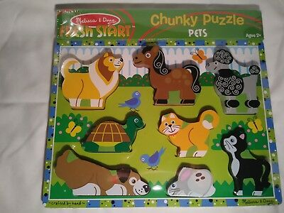 Melissa & Doug Chunky Animal puzzle