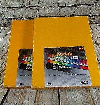 "Kodak Ektatherm Transparency Sheets  200 Sheets 8.5"" x 11"" Transparency film"