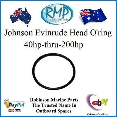 A Brand New Head O'ring Suits Johnson Evinrude 40hp-thru-200hp  # 335523