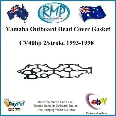 A Brand New Head Cover Gasket Suits Yamaha CV40hp 1993-1998 # 6E9-11193