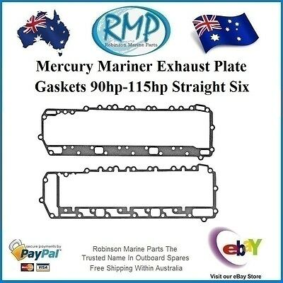 A Brand New Mercury Mariner Side Plate Gaskets 90hp-115hp 6cyl 27-85497-2 K