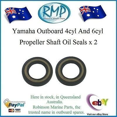 A Brand New Set x 2 Yamaha Propeller Shaft Oil Seals 4 / 6 cyl # R 93101-30M17