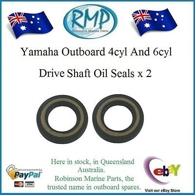 A Brand New Set x 2 Yamaha Drive Shaft Oil Seals 4 / 6 cyl # R 93101-28M16