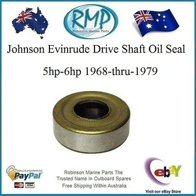 A Brand New Drive Shaft Oil Seal Johnson Evinrude 5hp-6hp 1968-thru-1979  314167