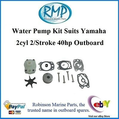 A Brand New Water Pump Kit Suits Yamaha 2cyl  2/Stroke 40hp # R 676-W0078-00