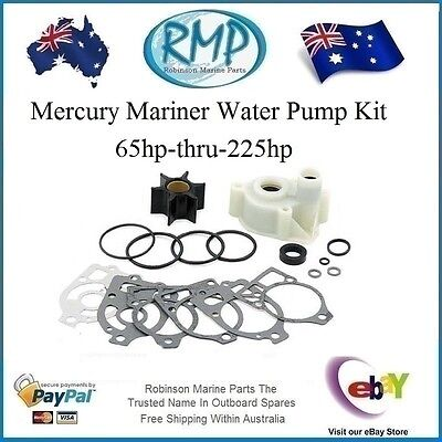 A Brand New Water Pump Kit Suits Mercury Mariner 65hp-thru-225hp R 46-60367A1