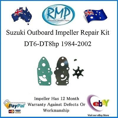 A Brand New Impeller Repair Kit Suits Suzuki DT6-8hp 1984-2002  # 17400-98551