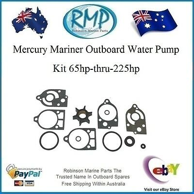 A Brand New Mercury Mariner Mercruiser 65hp-thru-225hp Water Pump Kit # R 12290