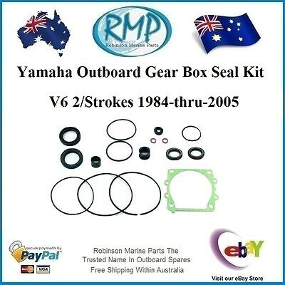 A Brand New Gear Box Seal Kit Yamaha Outboards V6 2/Strokes # 6G5-W0001-21