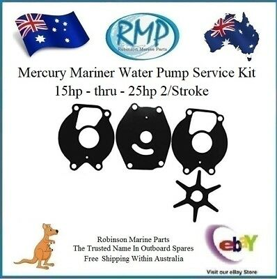 A Brand New Mercury Mariner Water Pump Service Kit 15hp-thru-25hp # R 12107