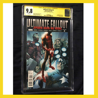 Ultimate Fallout 4 CGC 9.8 SS Signed --1st app MILES MORALES -- 3 DAY ONLY!