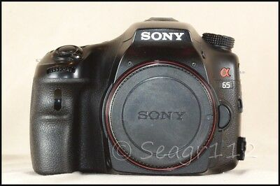 Sony Alpha SLT-A65 24.3MP Digital SLR SLT Camera Body - No Lens - Mint Minus