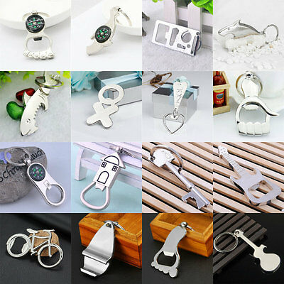 1pcs Bottle Opener Key Ring Chain Keyring Keychain Metal Beer Bar Tool Claw Gift