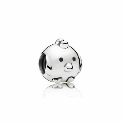 NEW Authentic Pandora Sterling Silver Charming Chick Charm 791743