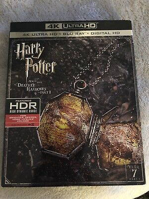 Harry Potter & the Deathly Hallows Part 14k Ultra HD Blu-Ray new with slipcover