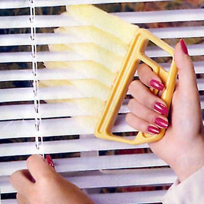 1x Microfibre Dirt Cleaner Venetian Blind Brush Window Air Conditioner Duster 6A