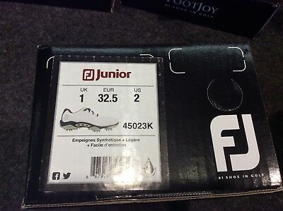 Footjoy Junior Kindergolfschuhe Gr. 32,5