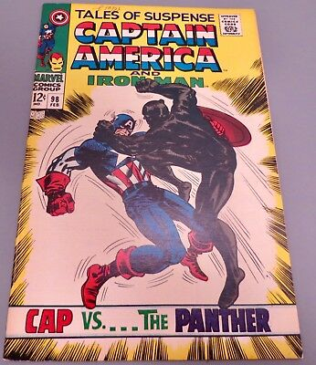 18-C137: Tales of Suspense # 98, 1968, NM 9.4! The BLACK PANTHER!