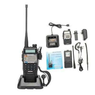 BAOFENG UV-5XP 7.4v 3000mAh 8W Dual-band Walkie Talkie Black + Free Earphone