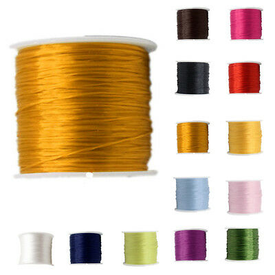 1 Reel 80m Leather sewing waxed thread wax cord 0.6mm