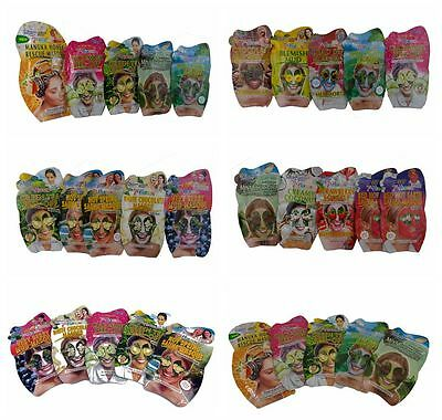 5 x MONTAGNE JEUNESSE 7TH HEAVEN Pick & Mix face mask choose your type