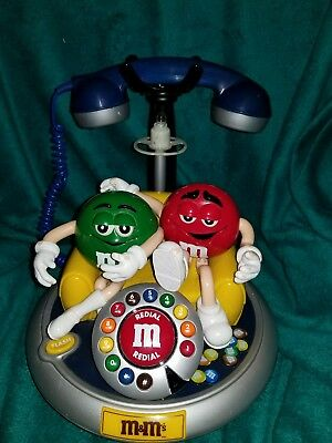 M&M's Animated Telephone / Phone - Untested