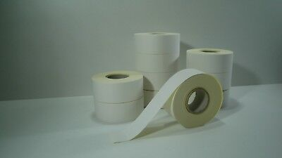 12000 Price Tags 24x16 White Removable 2HG B Schlecker Labeller
