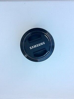 Samsung 30mm f/2.0 Pancake Lens for NX Cameras - Black