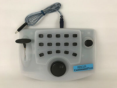 Videonics Focus Command Post CP1 CP-1 Media Controller w/ USB Connector Cable