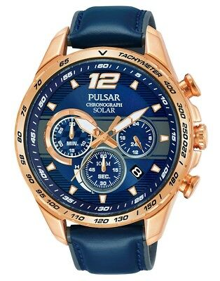 Solar Powered New Pulsar Watch Chronograph Gents Pz5046x1 8kPwOXn0