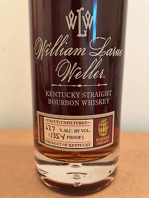 William Larue Weller - 2016 - Buffalo Trace Antique - Collectible Bottle