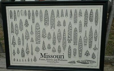 Missouri Points, Knives And Preforms Poster