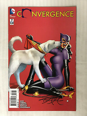 Convergence #7 - 1:25 Variant VF - Amanda Conner Cover!