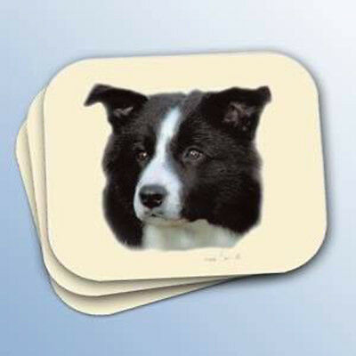 NEW Border Collie dog mouse pad 9x8 Winter Churchill