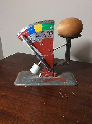 Antique Egg Scale Size Grader Oakes Mfg CO. INC. Tipton, Indiana