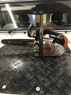 Stihl MS150 TC, Top Handle Chainsaw. 2014